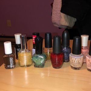 Opi and other nail polishes